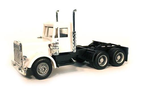Herpa HO 015232 Short Peterbilt Tractor, White