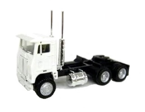 Herpa HO 015237 3-Axle Road Commander Tractor, White
