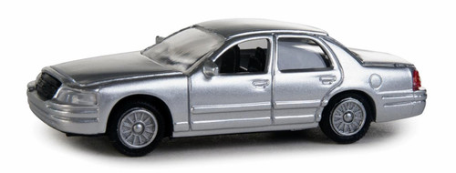 Walthers SceneMaster HO 949-12023 Ford Crown Victoria Police Interceptor, Police