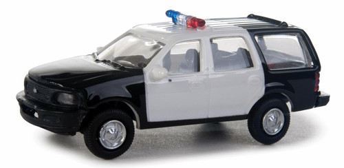 Walthers SceneMaster HO 949-12041 Ford Expedition Special Service Vehicle, Police