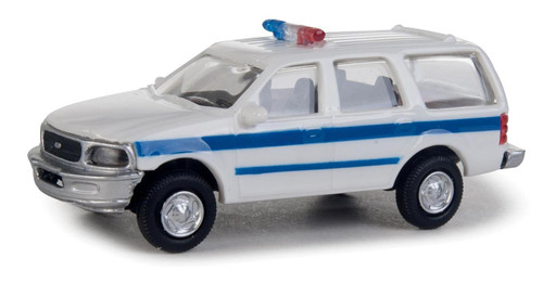 Walthers SceneMaster HO 949-12045 Ford Expedition Special Service Vehicle, Police