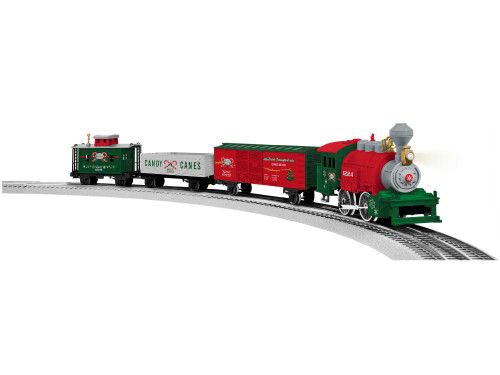 Lionel O 2023070 Junction Christmas Set with Illuminated Track