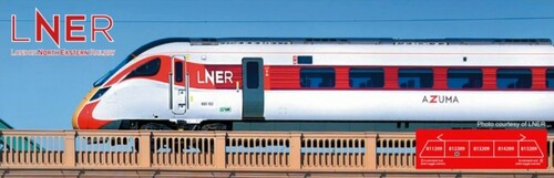 "Kato N 101674 Class 800/2 Bi-Mode ""AZUMA"" 5-Unit Set, UK's London North Eastern Railway"