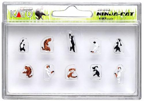 Kato HO 28853 Ninja-Cat Figure Set (10)