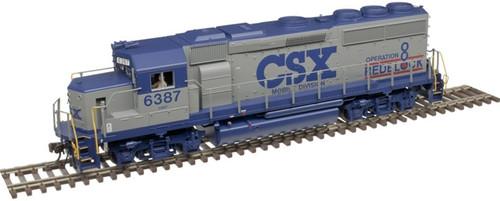 Atlas HO 10003492 Gold Series GP40-2, CSX #6387