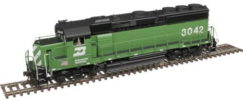 Atlas HO 10003496 Gold Series GP40-2, Burlington Northern #3042