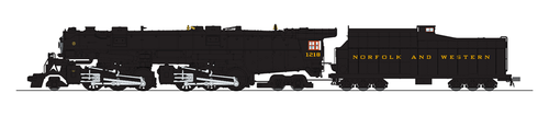 Broadway Limited Imports HO 5989 Class A 2-6-6-4 Steam Locomotive, Norfolk and Western (Glossy Museum Finish) #1218