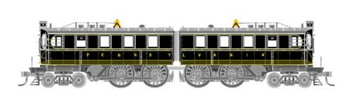 GHB International HO 44003 DD-1 Electric Locomotive, Pennsylvania Railroad #39