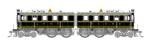 GHB International HO 44005 DD-1 Electric Locomotive, Long Island Railroad #343