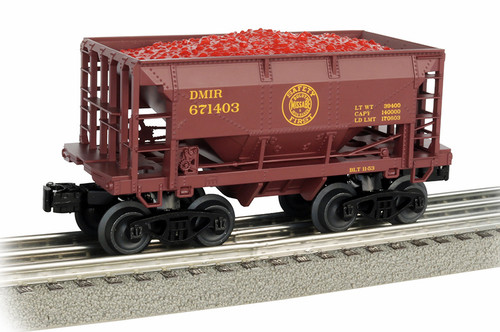 Williams By Bachmann O 48501 70-Ton Ore Car, Duluth Missabe and Iron Range #671403