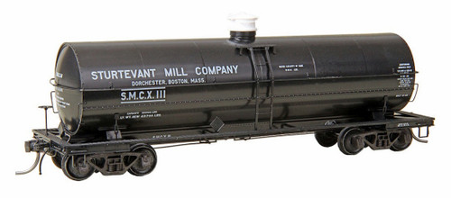 Kadee HO 9019 ACF 11,000 Gallon Insulated Tank Car, Sturtevant Mill Co. #111