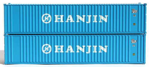 Jacksonville Terminal Company N 405520 40' Standard Height Containers with Magnetic System, Hanjin (2)