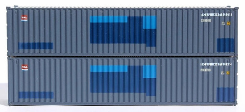 Jacksonville Terminal Company N 405328 40' Standard Height Containers with Magnetic System, TAL (2)