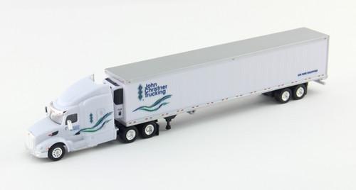 Trucks N Stuff HO 400635 Peterbilt 579 Tractor with 53' Reefer Trailer, John Christner Trucking