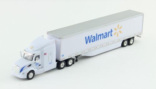 Trucks N Stuff HO 400640 Peterbilt 579 Tractor with 53' Dry Van Trailer, Walmart