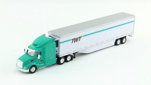 Trucks N Stuff HO 400641 Peterbilt 579 Tractor with 53' Reefer Trailer, TWT