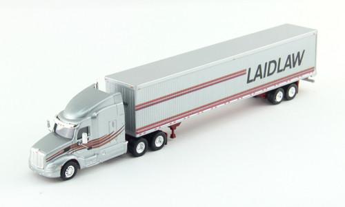 Trucks N Stuff HO 400643 Peterbilt 579 Tractor with 53' Dry Van Trailer, Laidlaw