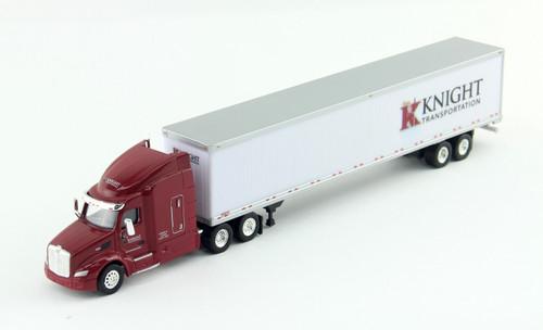 Trucks N Stuff HO 400645 Peterbilt 579 Tractor with 53' Dry Van Trailer, Knight Transportation