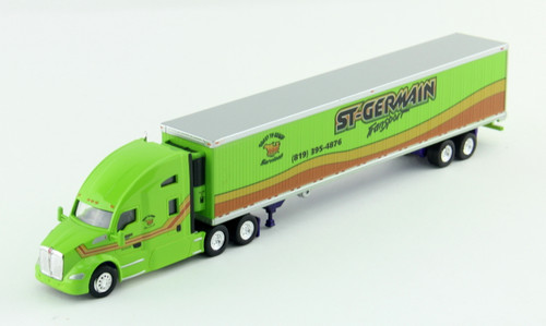 Trucks N Stuff HO 400651 Kenworth T680 Tractor with 53' Reefer Trailer, St. Germain