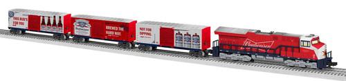 Lionel O 2023030 LionChief Budweiser Delivery ET44 Diesel Set
