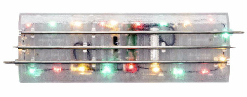 "Lionel O 2025010 Lighted FasTrack 10"" Straight (4)"