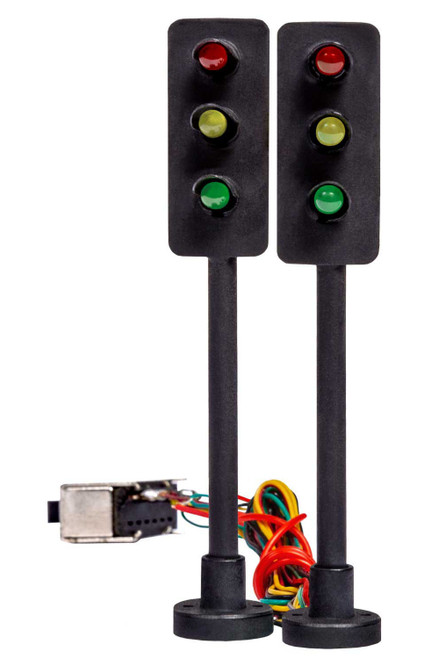 Lionel HO 2056120 Lighted Traffic Lights with Switch (2)