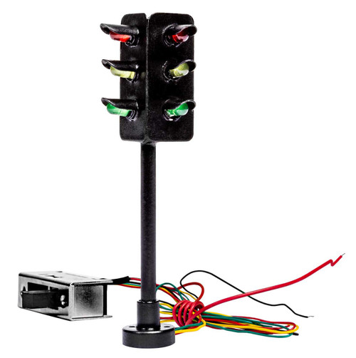 Lionel HO 2056130 Lighted 2-Way Traffic Lights with Switch (2)