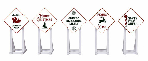 Lionel O 2030260 Christmas Signs (5)