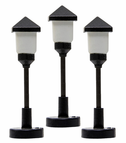 Lionel HO 2056180 Frosted Gas Lamps (3)