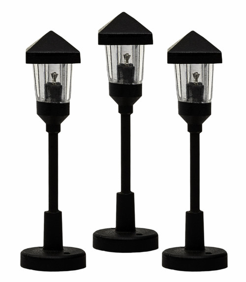 Lionel HO 2056190 Clear Gas Lamps (3)