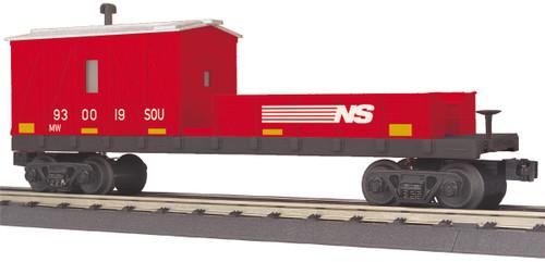 MTH RailKing O 30-79654 Crane Tender Car, Norfolk Southern #930019