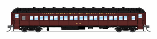 Broadway Limited Imports N 6523 P70 Coaches, Pennsylvania-Reading Seashore Lines (2-Pack B)