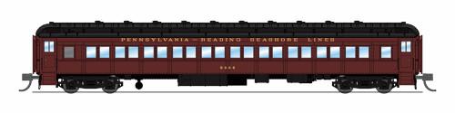 Broadway Limited Imports N 6525 P70 Coach, Pennsylvania-Reading Seashore Lines #9924