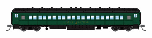 Broadway Limited Imports N 6536 80' Passenger Coach, Maine Central