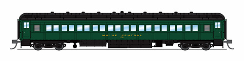 Broadway Limited Imports N 6537 80' Passenger Coach, Maine Central