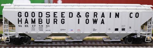 Intermountain HO 453107-01 4750 Cubic Foot 3-Bay Hopper, Goodseed and Grain #478960