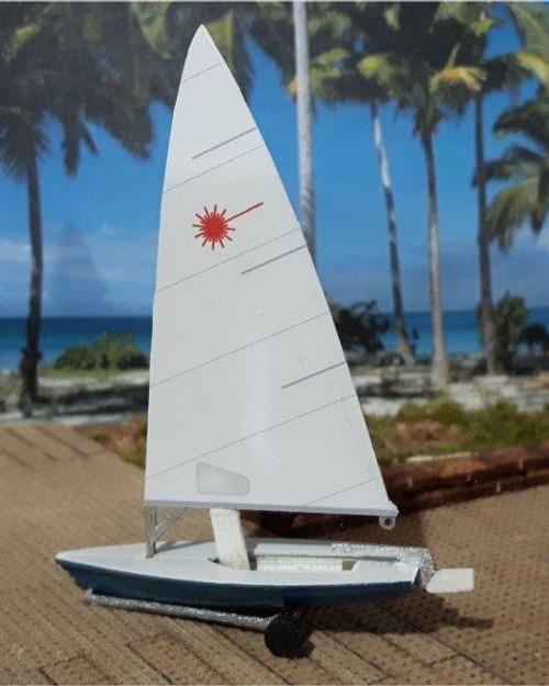 Osborn Model Kits HO 1129 Dinghy Sailboat Kits (2)