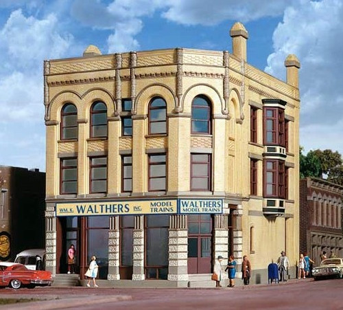 Walthers Cornerstone HO 933-4203 Water Street Building Kit