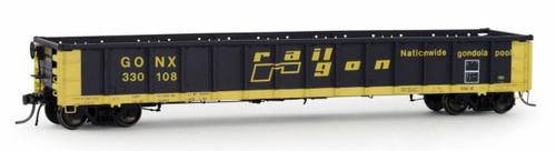 Arrowhead Models HO 1207-2 Greenville 2494 Gondola, Railgon #330051