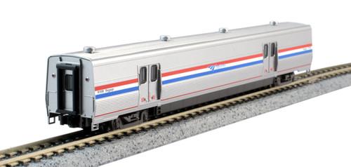 Kato N 1560959-1 Baggage Car with Interior Lighting, Amtrak Viewliner II #61024