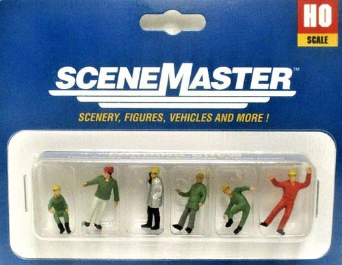 Walthers SceneMaster HO 949-6088 Loading Crew (6)