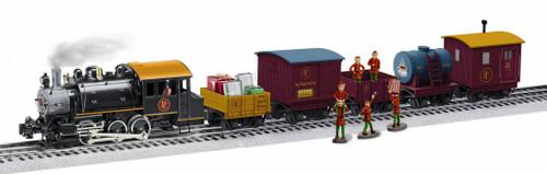 Lionel O 2022090 LionChief Polar Express Elf Work Train Set