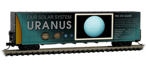 Micro-Trains N 10202837 60' Box Car with Excess Height and Modified Sides, Uranus