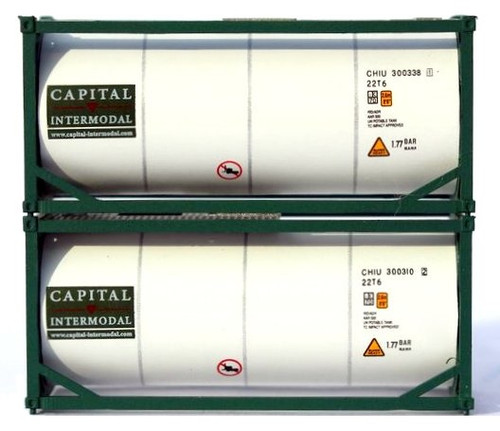 Jacksonville Terminal Company N 205242 20' Standard Tank Containers, Capital (2)