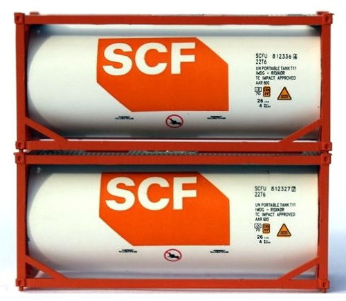 Jacksonville Terminal Company N 205225 20' Standard Tank Containers, SCF (2)