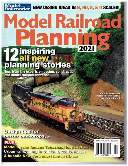 Model Railroader, Model Railroad Planning Annual 2021