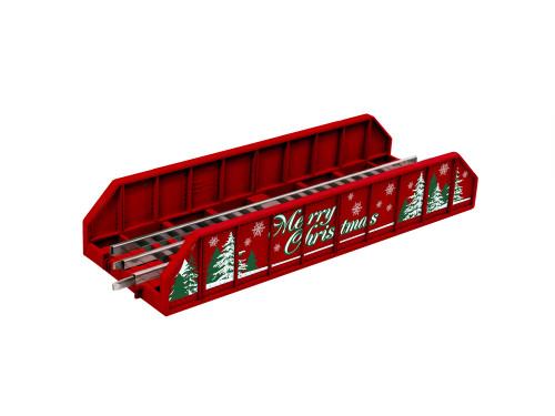 Lionel O 2025050 FasTrack Girder Bridge, Merry Christmas