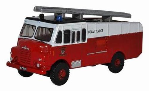 "Oxford Diecast N NGG002 Bedford RLHZ ""Green Goddess"" Self-Propelled Pump, Glamorgan Fire Service"
