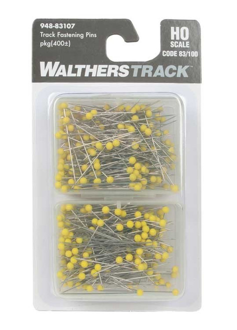 Walthers HO 948-83107 Code 83/100 Track Fastening Pins (Approximately 400)