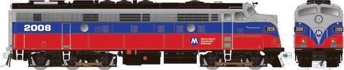 Rapido HO 14608 Rebuilt EMD FL9, Metro North #2017